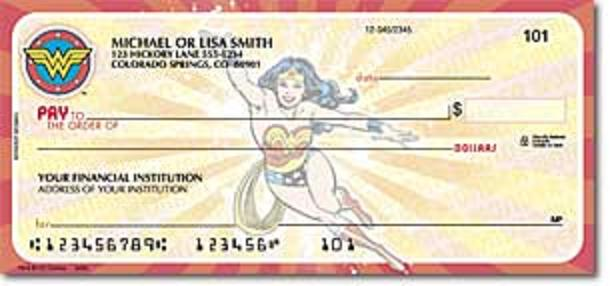 Wonder Woman Check 1