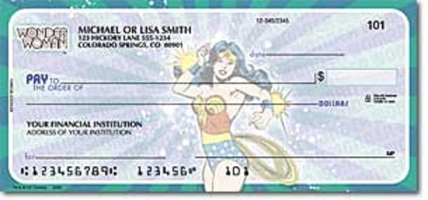 Wonder Woman Check 4