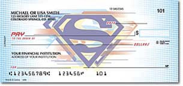 superman check 3